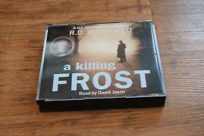 AUDIO BOOK R D Wingfield A KILLING FROST On 3 X CDs Read By David Jason • 9.95£