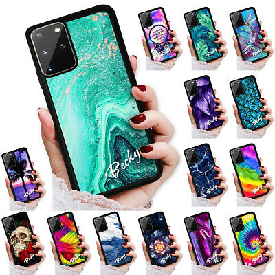 AU9.99 • Buy Personalised Name Case Cover For Samsung S20 FE S10 Plus Ultra Note 20 A21s A51