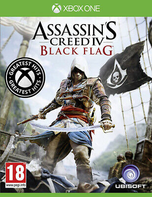Assassin's Creed IV: Black Flag - Greatest Hits (Xbox One)  BRAND NEW AND SEALED • 13.95£