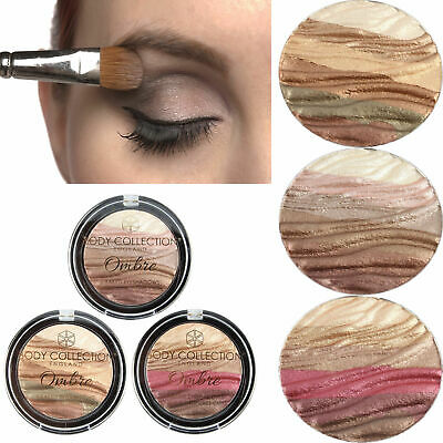 Body Collection Ombre 6 Baked Eyeshadows Makeup Compact Set Eyeshadow Palette • 4.89£