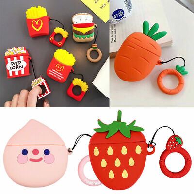 $ CDN6.07 • Buy 3D Case Cartoon Fruit Airpods Protective Case Cover Skin Earphone Cover Cute Acc