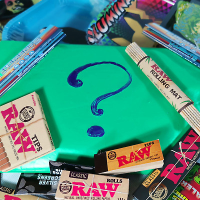 Mystery Stoner Gift Set - Random Selection Of COOL Smoking Accessories • 10£