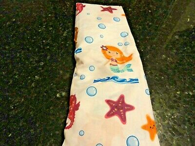 $9.99 • Buy NEW BABY Fitted Crib Sheet MERMAID Sea Horse Star Fish Tropical Toddler Bed Soft