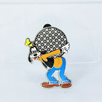 WDW - Four Parks, One World - Goofy Spaceship Earth Only Disney Pin 59716 • 7.99£
