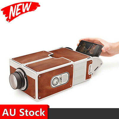 AU52.64 • Buy Portable Mini Projector 3D HD 1080P LED Home Theater Cinema Video Projection USB