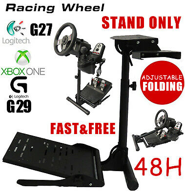 Simulator Racing Steering Wheel Stand For Logitech G29 G920 G25 G27 PS4 T80 XBOX • 49.95£