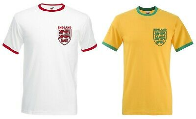 England Three Lions Retro T-Shirt - 2 Colours Available, St Georges Day, Flag • 14£