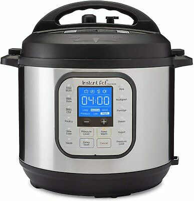 $109.99 • Buy Instant Pot Duo Nova 7 In 1 Electric Pressure Cooker, 6 Quart, Slow Cooker