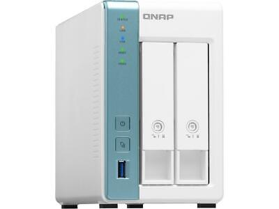 $ CDN279.99 • Buy QNAP 2-Bay Personal Cloud NAS For Backup And Data Sharing 4-core 1.7GHz 1GB RAM