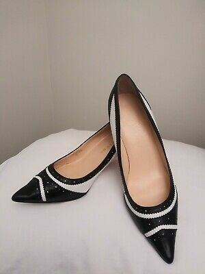 $ CDN69.24 • Buy Ivanka Tramp Black And White Ilyssa Shoes Sz8M Good Pre-Owned Condition