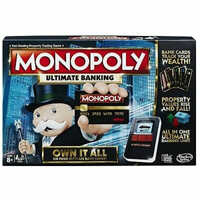 $78.33 • Buy Monopoly Game Ultimate Banking Edition Electronic Game Board New