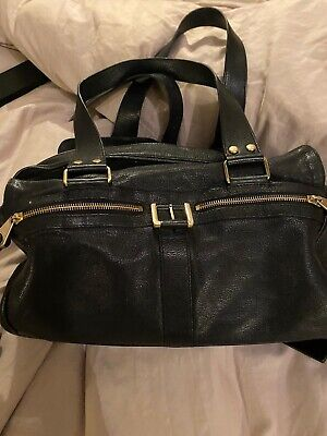 Black Mulberry Classic Mabel Leather Bag • 179.99£