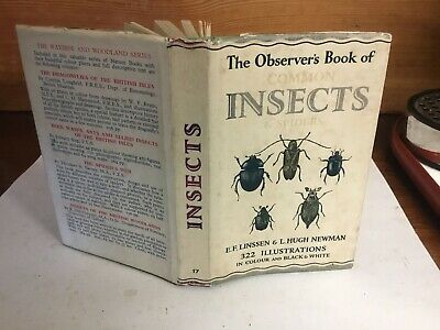 £12.99 • Buy Observers Book Of Common Insects & Spiders 1960: