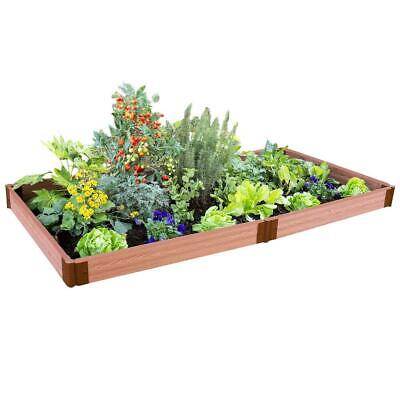 Frame It All Raised Garden Bed Composite Vegetable Herbs 4 X 8 Ft X 5.5 Inch New • 125.42£