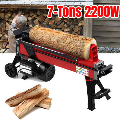 Heavy Duty Electric Log Splitter 7 Ton Hydraulic Wood Timber Fast Cutter Tool • 324.99£