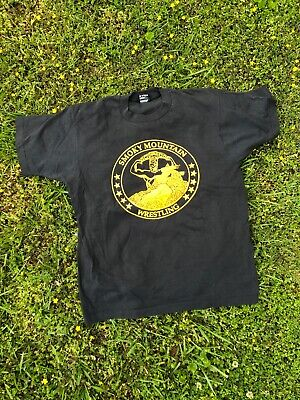 $ CDN196 • Buy Vintage 80s Smoky Mountain Wrestling T-shirt Size Large 50/50 Made In USA