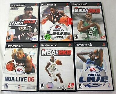 AU18.76 • Buy Playstation 2 PS2 Game Lot NBA 2K3 NBA 06 2002 2K9 2K8 2001