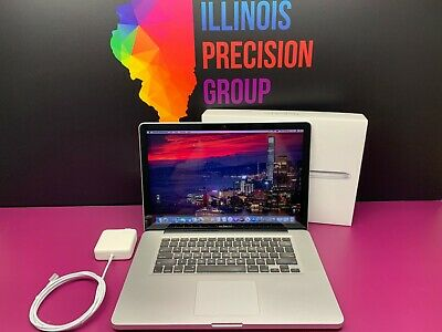 $877 • Buy MacBook Pro 15  Pre-Retina | QUAD CORE I7 16GB 1TB SSD | 3YR WARRANTY | OS2017!