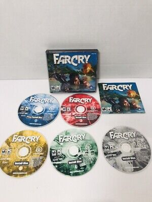 AU6.30 • Buy FarCry Far Cry PC CD-ROM Game 5 Discs 2004 Ubisoft Win 98/2K/XP+ Complete