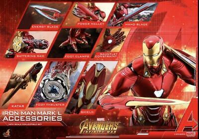 $ CDN523.82 • Buy Hot Toys Iron Man Mark 50 Extended Parts Set