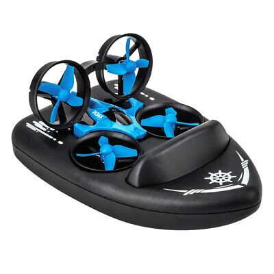 AU33.94 • Buy JJRC H36F 3 In 1 RC Drone Boat Car 4CH 6-Axis Remote Control Toy Vehicle