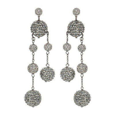 $ CDN95.11 • Buy Kate Spade New York Womens Asymmetrical Silver Ball Drop Dangle Earrings Evening
