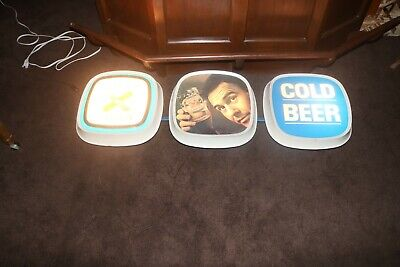 $ CDN629.42 • Buy Rare 1960s Lucky Lager Lighted Beer Sign Johnny Carson Fantastic Sign One Of A K