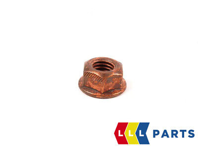$4.72 • Buy Bmw New Genuine Exhaust Manifold Copper Nut With Flange Hex M8x1.25 18307620549