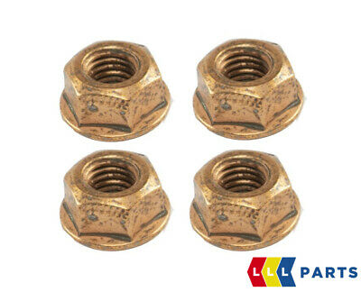 $9.73 • Buy Bmw New Genuine Exhaust Manifold Copper Nut With Flange Hex M8x1.25 4pcs 7620549