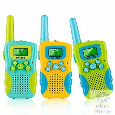 $ CDN63.15 • Buy Kids Walkie Talkies 3 KMs Long Range 2 Way Radio 22 Channels Outdoor Adventure