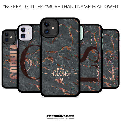 Personalised Phone Case Cover Name Initials For Apple Iphone Se 2020 Xr X 11 6s • 5.99£