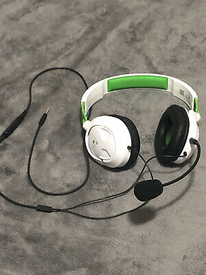 $15 • Buy Turtle Beach RECON 50X White Headband Headsets For Microsoft Xbox One