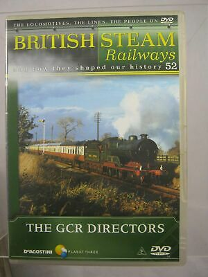 British Steam Railways - (No.52) The GCR Directors - DVD DeAgostini • 3.99£