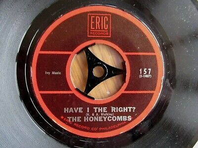 THE HONEYCOMBS Have I The Right US PRESSING 7  VINYL SINGLE 1960's POP CLASSIC • 5.99£