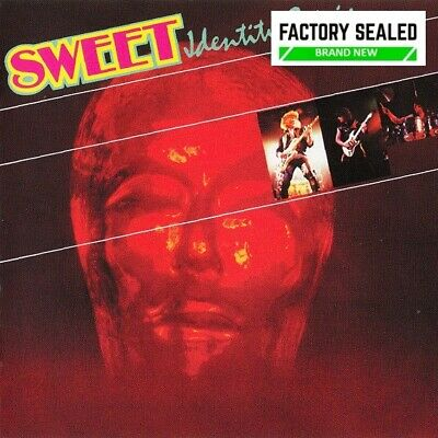 The Sweet – Identity Crisis Remastered CD NEW • 9.99£