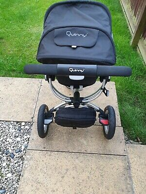 Pushchair, Quinny Buzz 3-wheeler Black Very Clean And In Excellent Condition • 150£