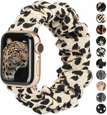 AU12.99 • Buy Soft Scrunchie Fashion Loop Band Strap For Apple Watch IWatch Series 5/4/3/2/1