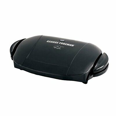 George Foreman 5-Serving Removable Plate Electric Indoor Grill And Panini Pre... • 63.49£