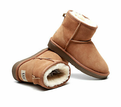 AU59.95 • Buy UGG Ankle Boots 100% Australian Sheepskin Unisex Water And Slip Resistant