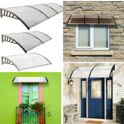 £49.95 • Buy PVC Over Door Canopy Porch Front Rain Cover Awning Shelter Outdoor Patio