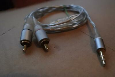 Mini Stereo Jack To 2 RCA Great Audio Cable-1.55 Meter-High Quality. • 5£