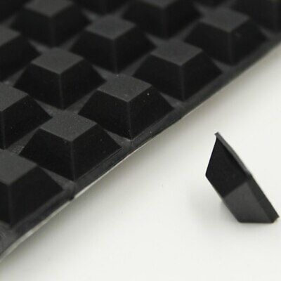 £4.95 • Buy Small 3M RUBBER FEET Sticky SELF ADHESIVE Silicone Pads ~ 13mm X 13mm X 6mm High