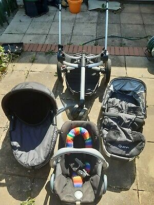 £60 • Buy Quinny Buzz 3 In 1 Travel System