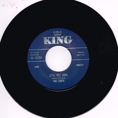 MAC CURTIS - LITTLE MISS LINDA / THAT AIN'T NOTHIN' BUT RIGHT (Hot ROCKABILLY)  • 10.99£