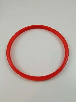 $15 • Buy Genuine Silicone Sealing Gasket Ring Red Instant Pot 6 Quart Replacement Parts