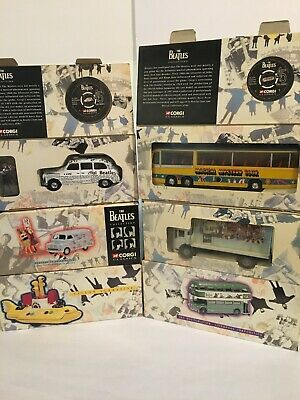 $190 • Buy The Beatles Collection 1997 Corgi Classics Diecast Vehicles
