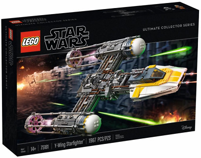 AU450 • Buy Lego Y-Wing Starfighter - UCS (2nd Edition) 75181 NEW AND SEALED