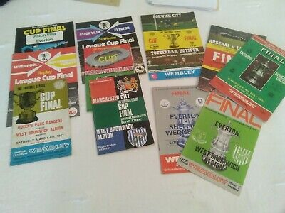 Fa And League Cup Final Programmes • 30£