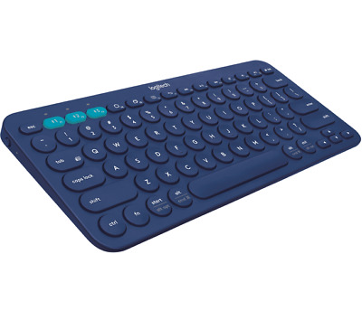 AU89.95 • Buy Logitech K380 Multi-Devices Bluetooth Keyboard For IOS Android Laptop BLUE COLOR