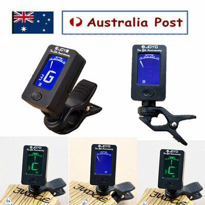 AU11.55 • Buy Electric Urikri Guitar Tuner Violin Ukulele Bass LCD Electronic Digital Clip On